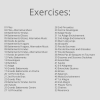 Etudes Exercises List